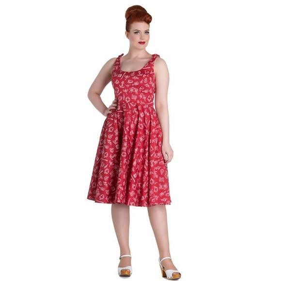 def7679b942de Hell Bunny Dresses   Skirts - Hell Bunny Vixen ModCloth- Marin Dress Medium